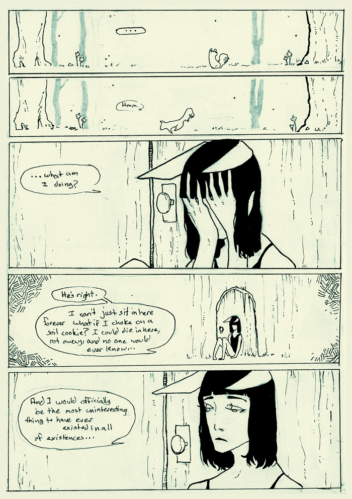 page 10 of the ANDRO comic